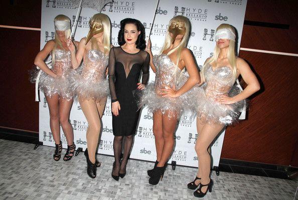 Dita Von Teese - Dita Von Teese Performing At The Hyde Bellagio Nightclub In Vegas