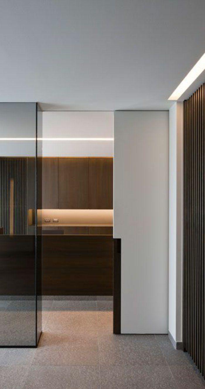 les 25 meilleures id es de la cat gorie porte galandage sur pinterest porte coulissante. Black Bedroom Furniture Sets. Home Design Ideas