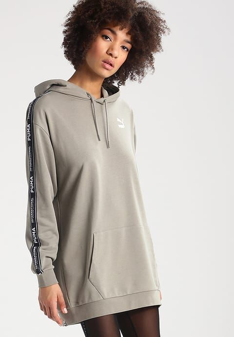 PUMA STREET - Jersey dress vetiver Women Clothing Dresses,Cheap Puma For Sale | Buy Puma online now discount uo to 70% off today