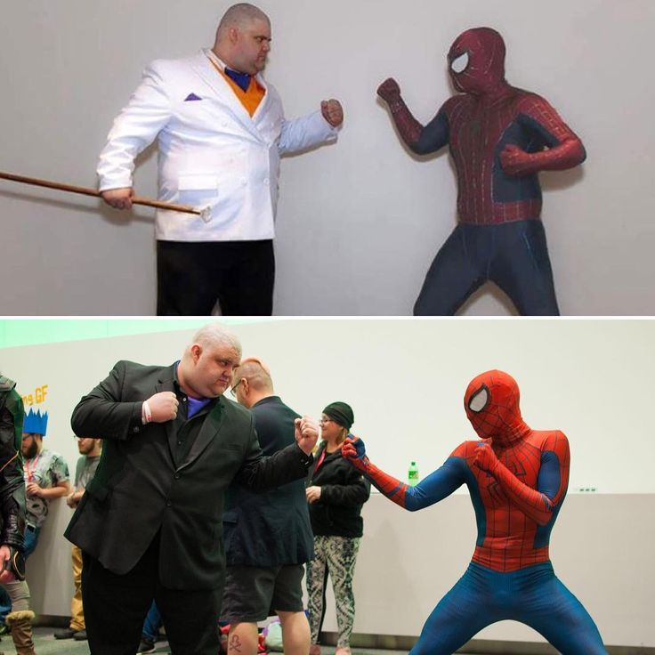 Throwback... Wednesday to the first time I fought the Kingpin at Ohayocon 2017.  Photo by @parmeseany  At #ohayocon2018  Tags: #Spiderman #Spidey #marvel #cosplay #cosplayer #colossalcon #ohayocon #matsuricon #wizardworldcolumbus #comiccon #amazingspiderman #fitness #weightloss #cosplayfitness #photography #cosplayphotography #ultimatespiderman #Andrewgarfield #tomholland #tasm #homecoming #wilsonfisk #kingpin #daredevil #peterparker #spideysquad #spidermanhomecoming #avengers