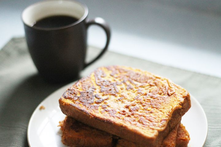 Freezer Friendly Pumpkin Whole Wheat French Toast is such a nutritious and hardy way to start your day. Very simple to make and a breakfast that sneaks in some nutrition.