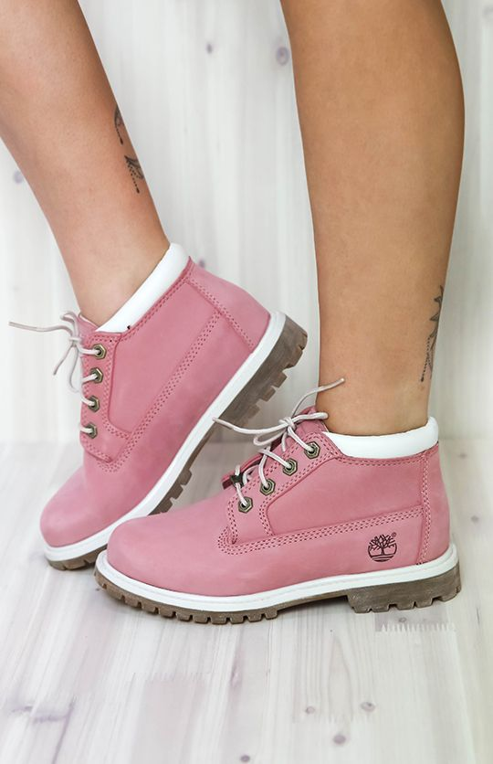 womens timberland pink nellie chukka double boots
