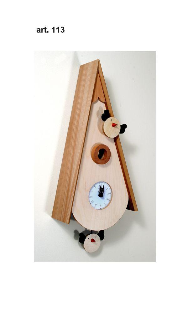 Art #113- Contemporary Cuckoo Clock in natural wood with bird pendulum http://momentoitalia.com/tutti%20file/immagini/accessori/modern-cuckoo-clock-design-italian/modern-cuckoo-clock-design-G%20(2).jpg
