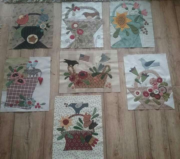 7 Baskets of Plenty by Cheri Payne