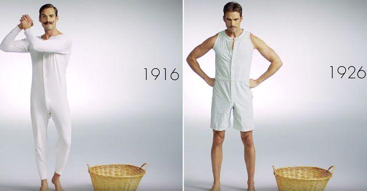 Men's Underwear: Das trugen Männer vor 100 Jahren #News #Fashion