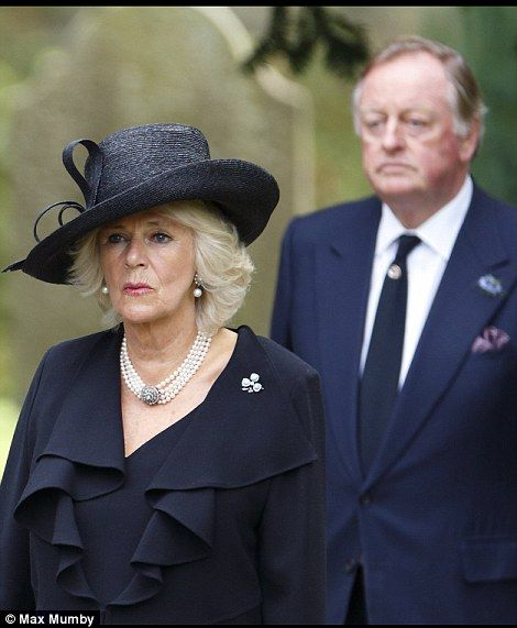 10/2/14.   Prince Charles and Duchess of Cornwall at Dowager Duchess of Devonshire funeral | Daily Mail Online