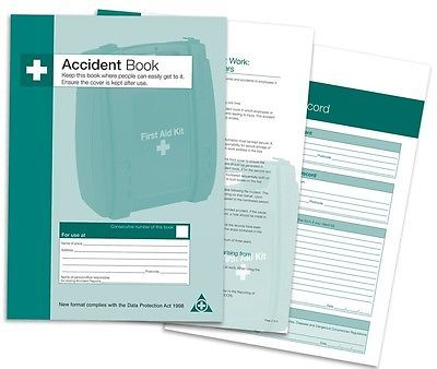 Accident #book-first aid #injury record - a5-data protection act 1998 #compliant,  View more on the LINK: 	http://www.zeppy.io/product/gb/2/261582165842/