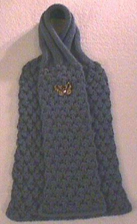 Jaeger Knitting Patterns Free : Berry Stitch scarf in Jaeger Chamonix. Free Knitting Patterns (Scarves) P...