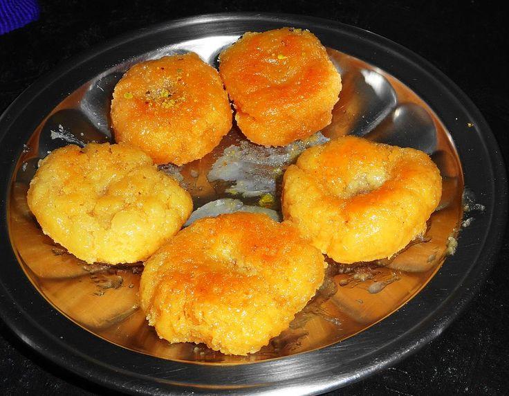 Cuisine of Karachi: Balushahi   بالو شاھی