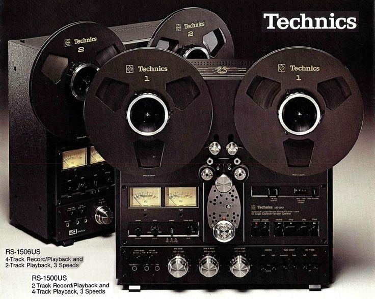 Technics RS-1500/RS-1506 (1976) www.1001hifi.com