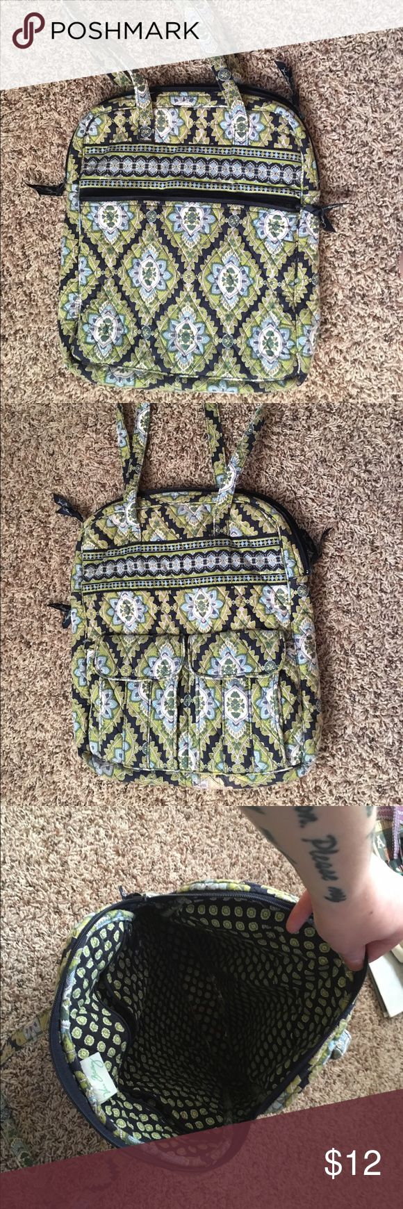 Vera Bradley tote bag Medium sized Vera Bradley tote bag. Has been used but still in great condition. Comes from smoke free/pet free home! Vera Bradley Bags Totes