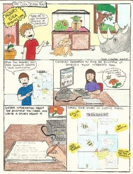 about strips light comic educational