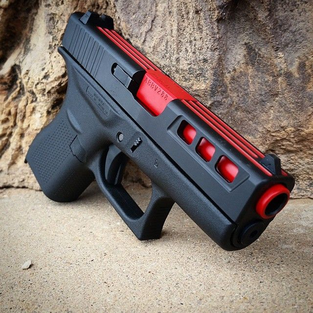 Glock 42!! This thing turned out great!  #glockfanatics Find our speedloader now!  http://www.amazon.com/shops/raeind#concealedcarry…