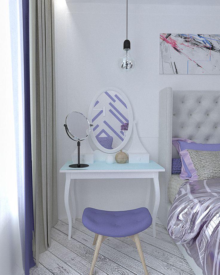 туалетный столик ikea, dressing table, дизайн спальни, дизайн интерьера, bedroom design idea