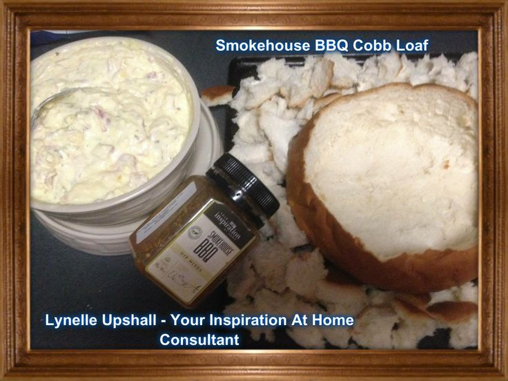 Cobb Loaf using YIAH Smokehouse BBQ Dip