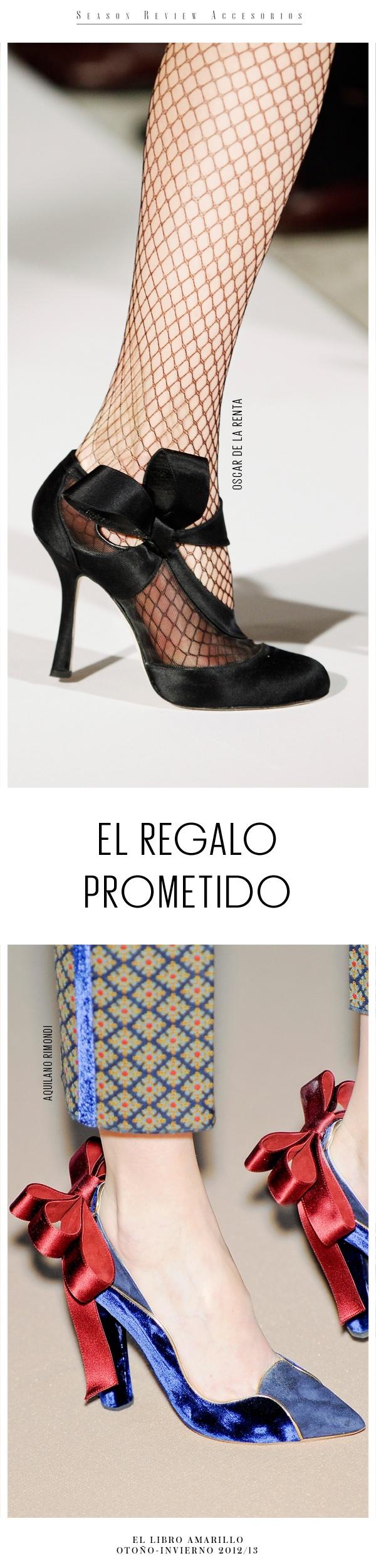 Zapatos - Oscar de la Renta & Aquilano Rimondi - El Palacio de Hierro -El