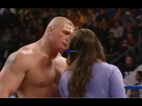 2016 Brock Lesnar KISS in Show after Wrestling by WWE HUB
