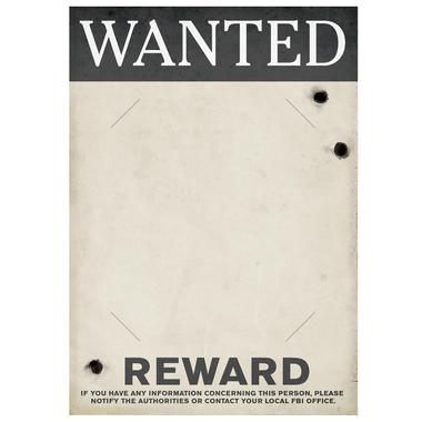 "Show everyone who is the most wanted with this Gangster Wanted Sign! Includes 1 cardboard sign that measures approximately 17"""" x 12"""" and has spots to hold an 8"""" x 10"""" photo.Includes (1) Gangster W"