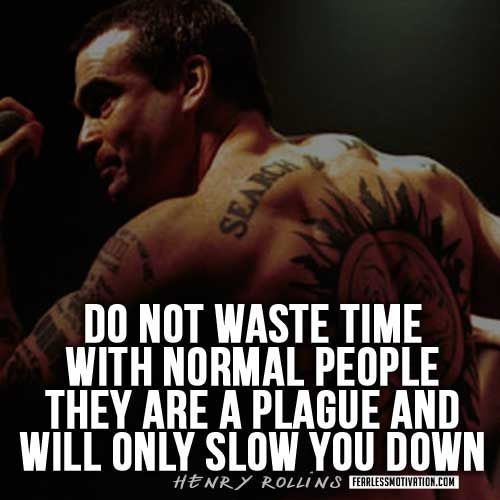 Henry Rollins Quotes & Workout Tips! - Exclusive Interview & quotes from Henry Rollins including workout tips and essay Iron and the Soul by Henry Rollins