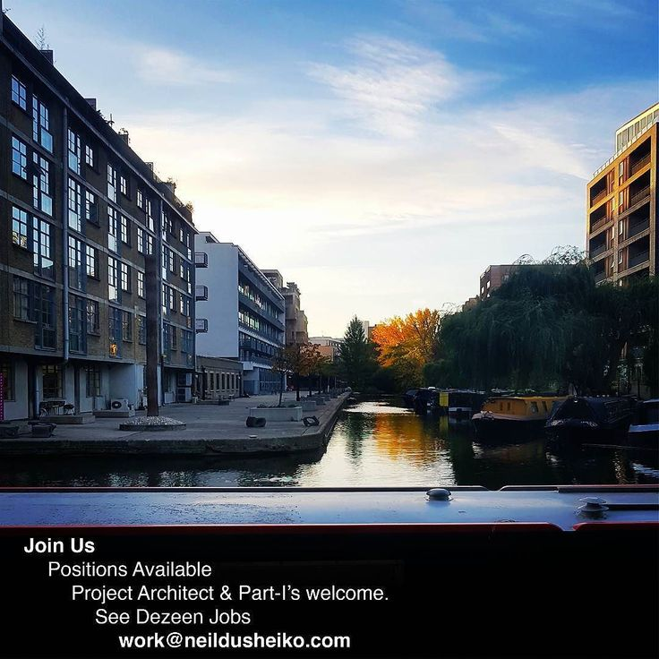 We are hiring. See Dezeen Jobs for further details. We specialise in residential projects and work from a lovely studio overlooking the canal.