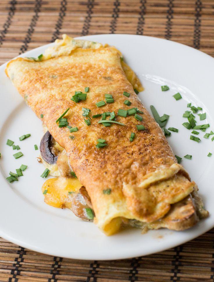 Una receta sencilla de omelette, con los detalles para lograr un excelente resultado. #omelette