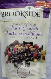 My FAVOURITE chocolate ever.  Brookside | Dark Chocolate | Fruit Crunch