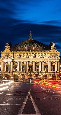 L'Opéra Garnier, Paris.