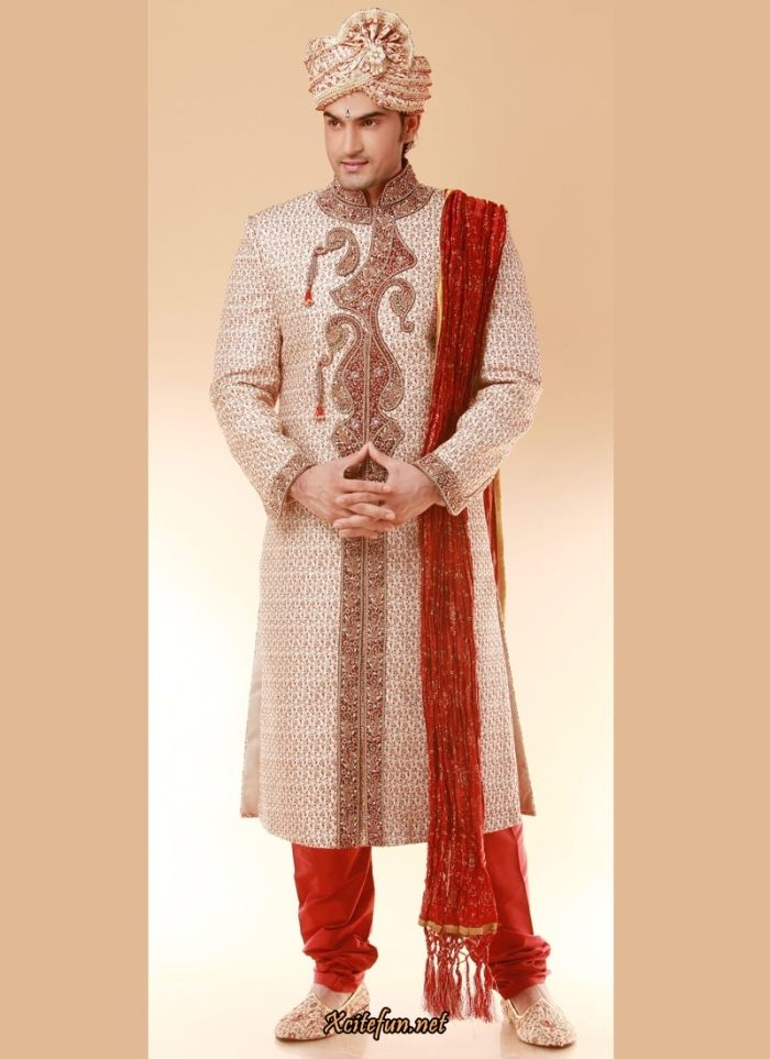 Sherwani Indian Wedding Dresses For Men Is Not Alone Are You Interested To Wear