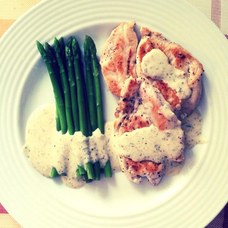 Курица в горчичном соусе со спаржей - Andy Chef - блог о еде и путешествиях, пошаговые рецепты, интернет-магазин
