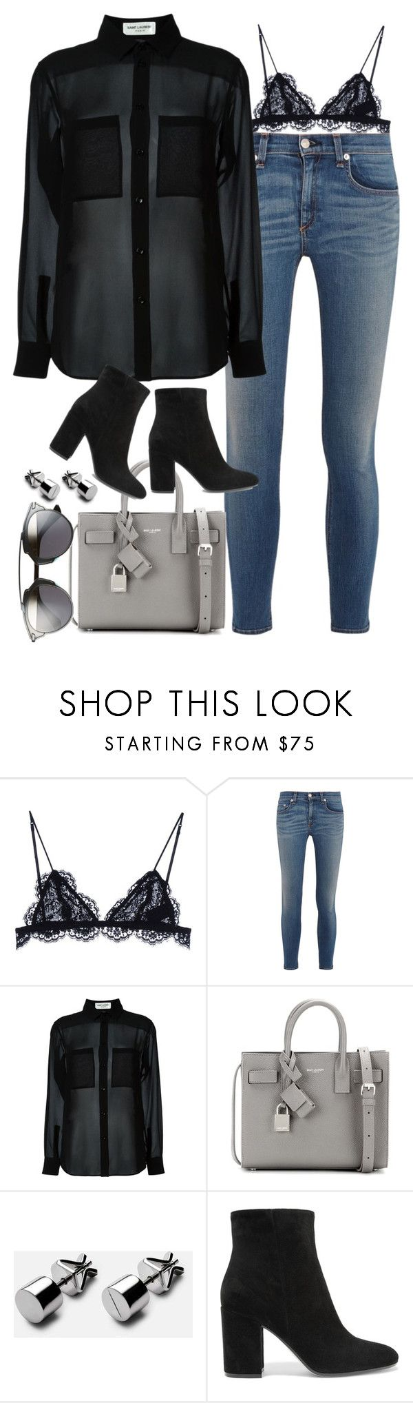 """Untitled #1758"" by sarah-ihab ❤ liked on Polyvore featuring Isabel Marant, rag & bone, Yves Saint Laurent, Gianvito Rossi and Christian Dior"