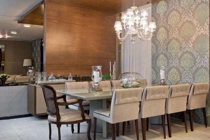 Construindo Minha Casa Clean: Como Usar Cadeiras Diferentes nas Salas de Jantar? Veja 20 Lindas Ideias!
