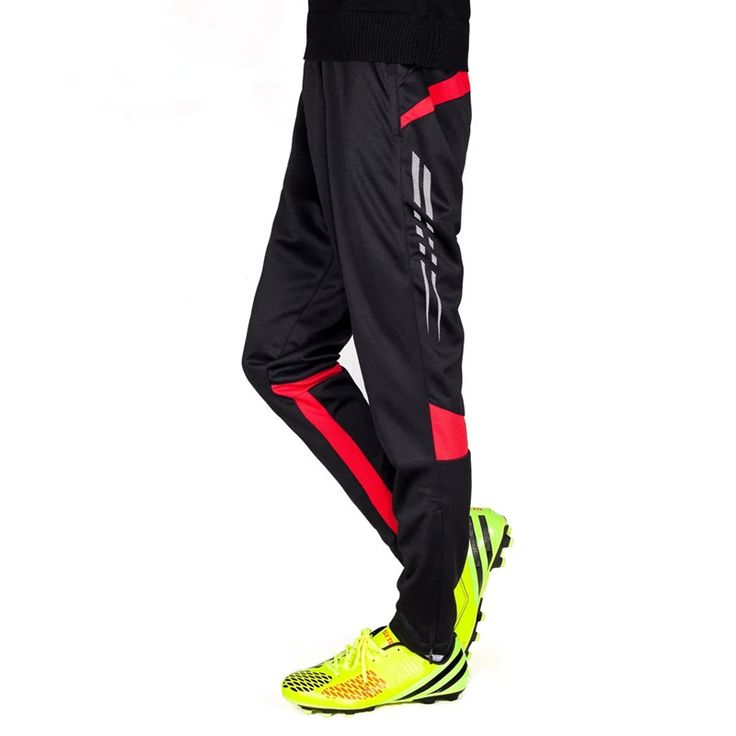 2017 New Running Pants Football Training Soccer Pant Active Jogging Trousers Sports Leggings Track GYM clothing Men's Sweatpants #Affiliate