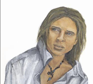 Daniel, drawn in art. Bandits by LM Preston