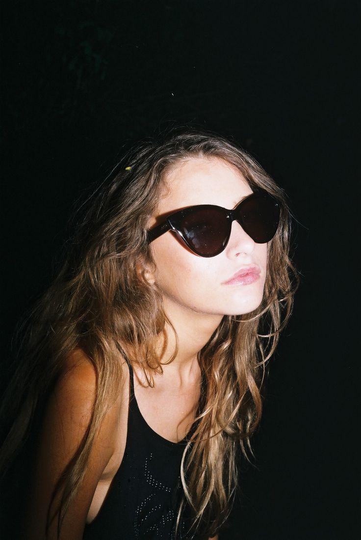 Teresa Oman wearing Rusty Evil Frames, part of the new Rusty Eyewear Line. #ourkind