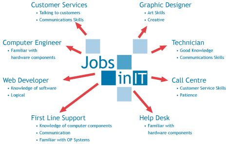how to choose a career in it field