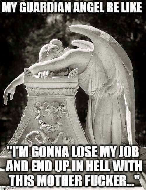 Guardian Angel. .Funny