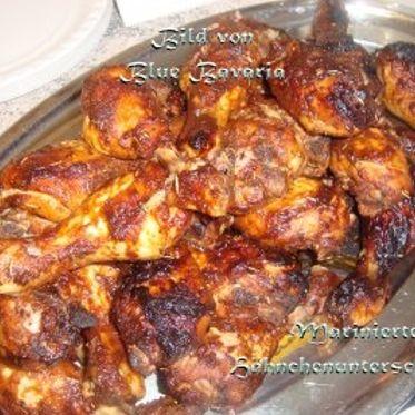 Marinierte Hähnchenunterschenkel Rezept | Küchengötter