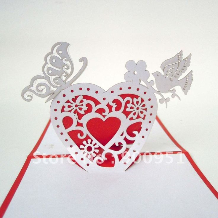 How To Make Wedding Pop Up Cards : 1000+ images about Kirigami on Pinterest Paper art ...