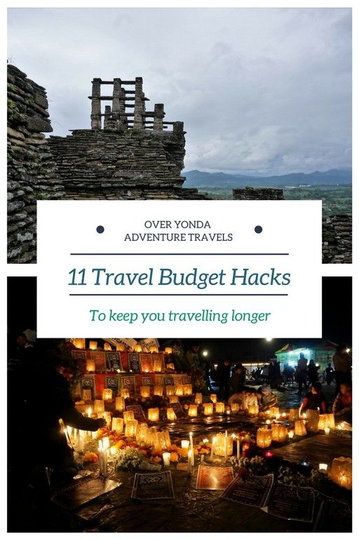 You've saved up for that big #adventure and you're on the road. Here is some #traveltips and tricks to make your #budget stretch out as much as possible? Keeping you on the road longer! #budgethacks