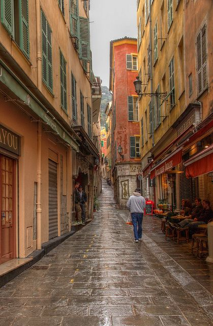 Vieux ville, Nice, France. I would move here tomorrow. That is all.