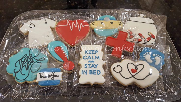 Thank you Doctors and Nurses - OB - Cookies - Public Display of Confection