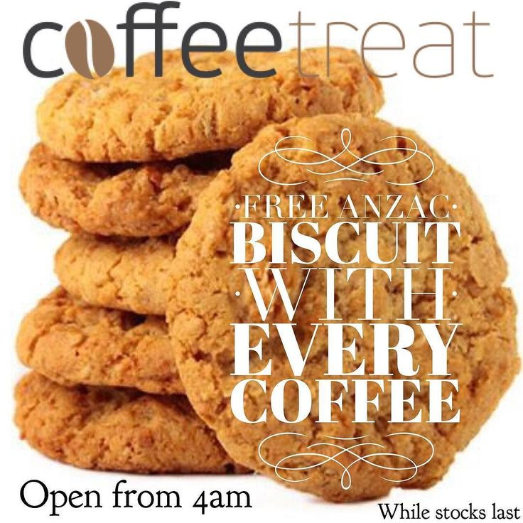 Coffee treat. Warrnambool's only dedicated take away coffee shop will be open from 4 am Anzac morning. With free Anzac biscuits! #coffee3280 #destinationwarrnambool #love3280 #eat3280 #anzac by destinationwarrnambool