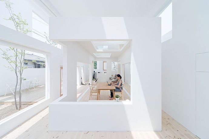 Expand + Nest in Operative Design : A Catalogue of Spatial Verbs House N - Sou Fujimoto, Architect - Photographer: Iwan Baan