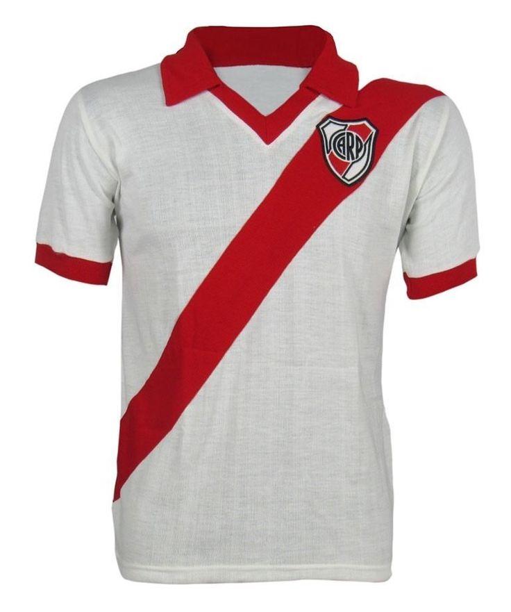 CA River Plate Argentina Retro Jersey Brazil Soccer Football Maglia Trikot