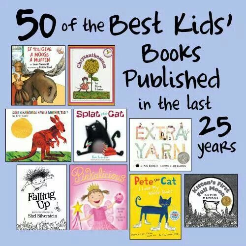 50 best kid books from last 25 years