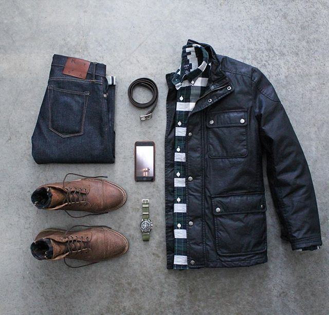 Outfit grid - Warm jacket