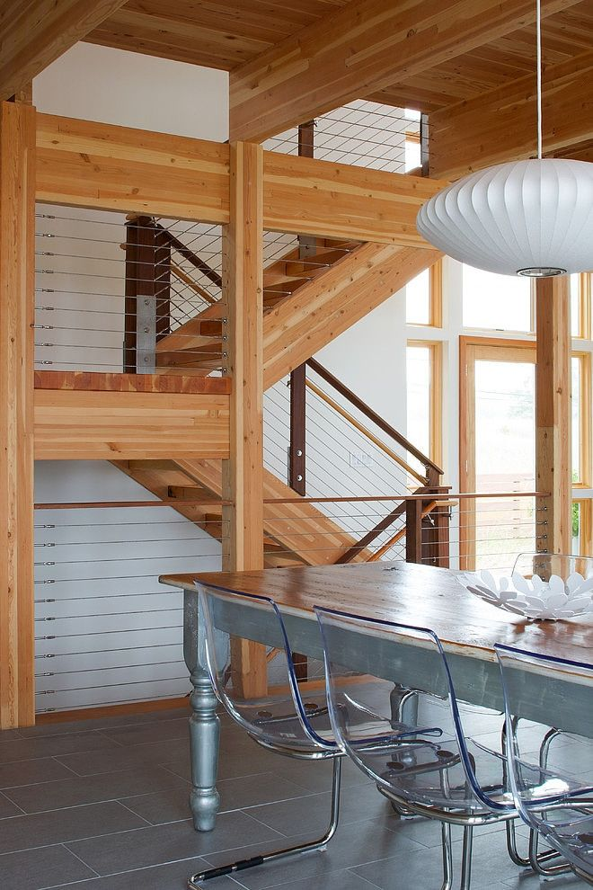 Grand Haven Residence by Allegretti Architects | George Nelson Saucer Lamp | http://modernica.net/saucer-lamp.html