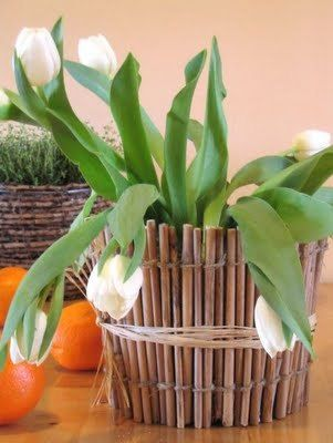 Декор цветочных горшков веточками (8) (301x400, 25Kb)