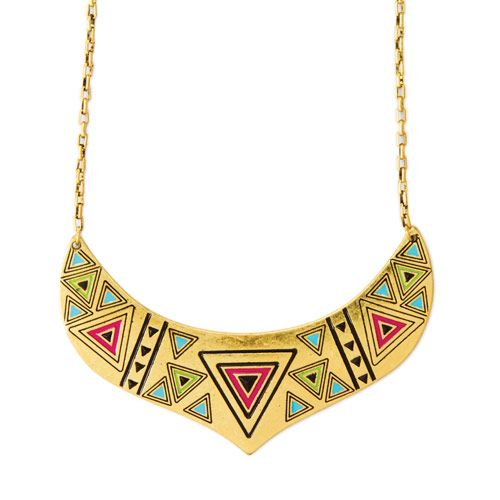 Love this geometric necklace from Claires and Katy Perry!