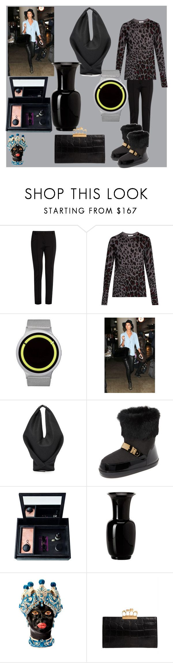 """""""set sale offer"""" by denisee-denisee ❤ liked on Polyvore featuring Fendi, Equipment, ZIIIRO, MM6 Maison Margiela, Giuseppe Zanotti, Nomess, Venini, Sicily & More, Alexander McQueen and vintage"""